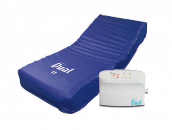 Hospital bed mattress / anti-decubitus / dynamic air / tube 200 kg | Dual Carilex