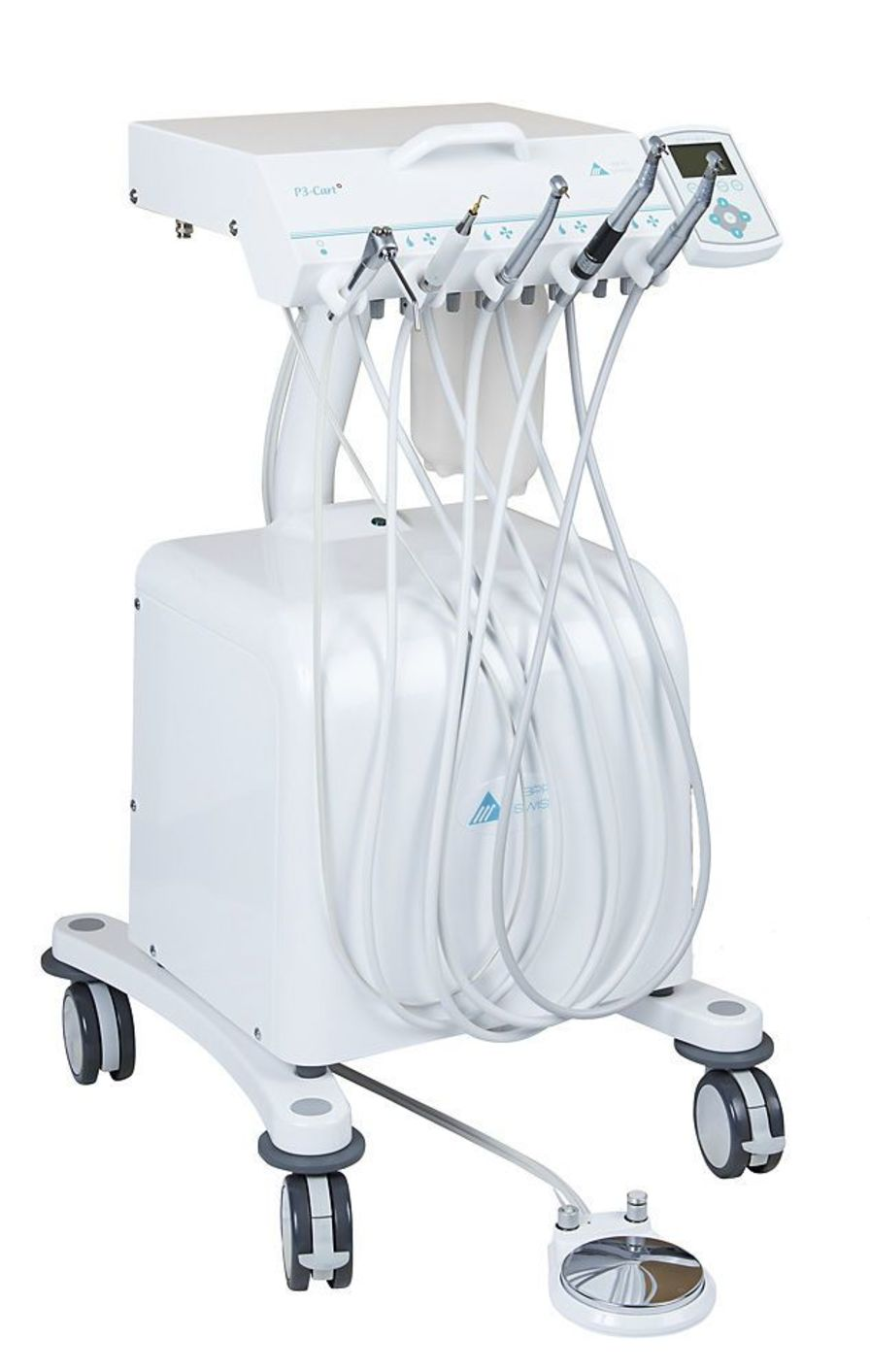 Mobile dental delivery system P3-CART BPR Swiss