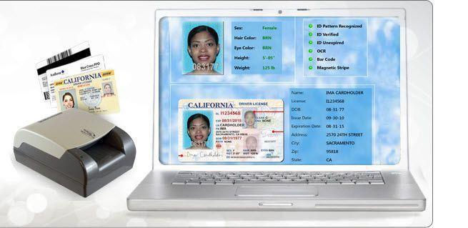 Health insurance card scanner ScanShell® 900DX Card Scanning Solutions