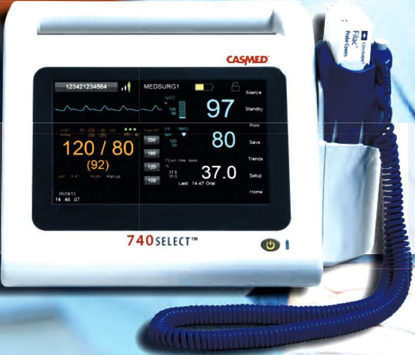 Vital signs monitor 740 SELECT™ series CAS Medical Systems
