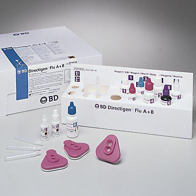 Influenza rapid test 256050, 256010 BD