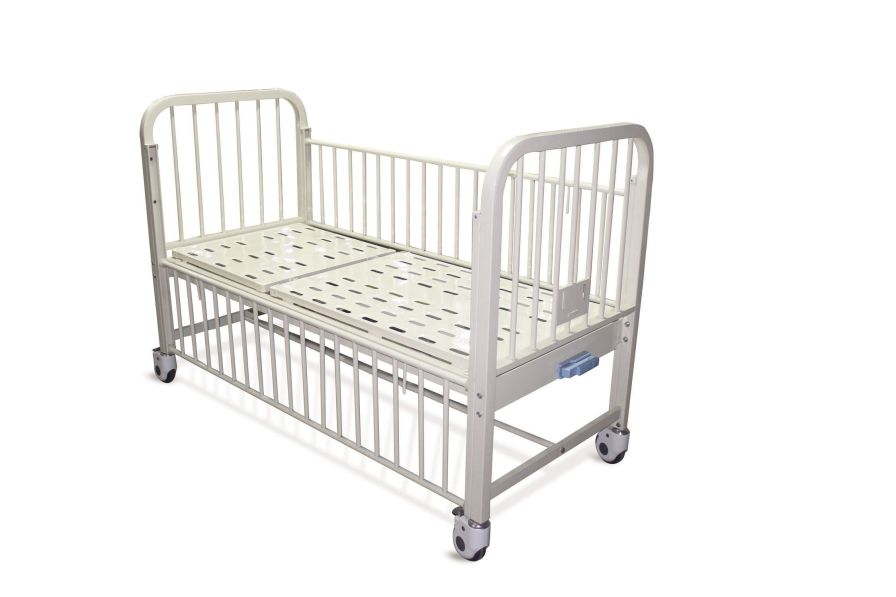Hospital bed / mechanical / on casters / 2 sections BT628 Better Medical Technology