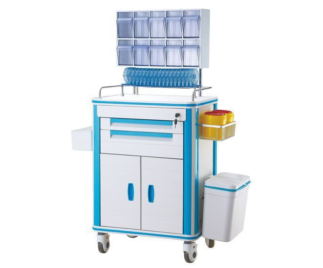 Storage trolley / anesthesia / with drawer / with shelf unit BT105 Better Medical Technology