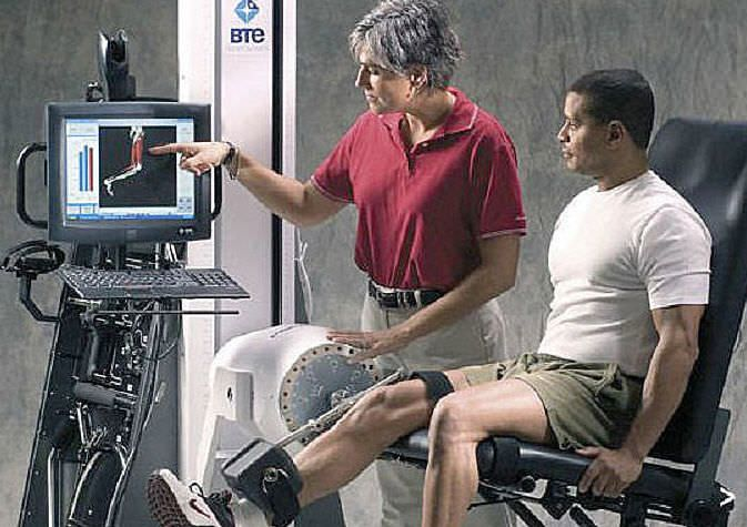Physical strength functional capacity evaluation system PrimusRS BTE Technologies