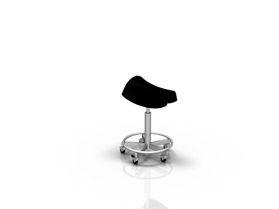 Medical stool / ergonomic / saddle seat ALVO Medical