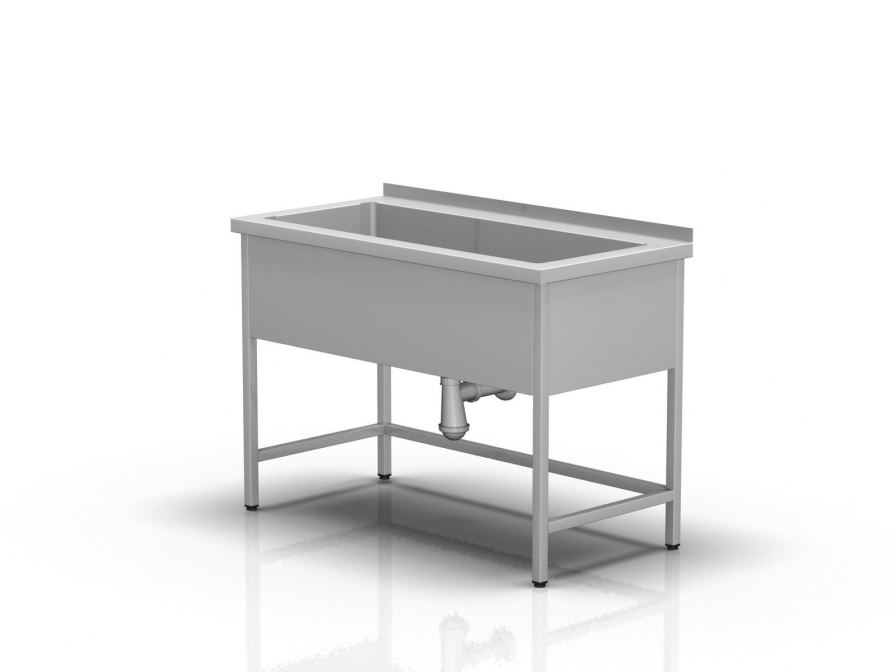 Work table / rectangular / with sink 2-396 ALVO Medical