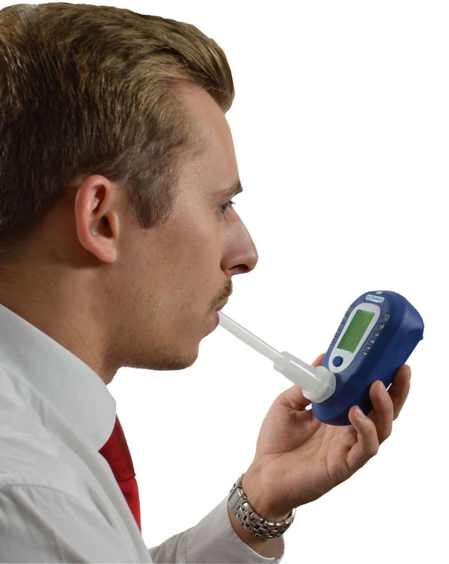 Carbon monoxide monitor exhaled 0 - 100 ppm | Smokerlyzer® piCO+™ Bedfont Scientific