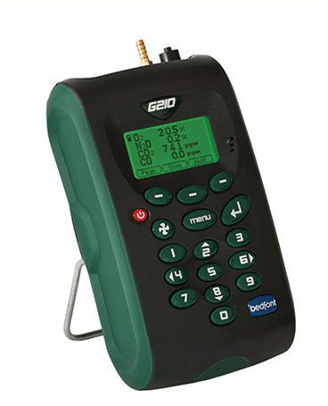 Carbon dioxide monitor oxygen / hand-held G210 Bedfont Scientific