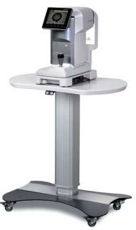 Electric ophthalmic instrument table / height-adjustable / on casters bon T-70 bon Optic Vertriebsgesellschaft