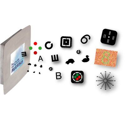 Optotype chart monitor / ophthalmic test / remote-controlled bon MultiVisus series bon Optic Vertriebsgesellschaft