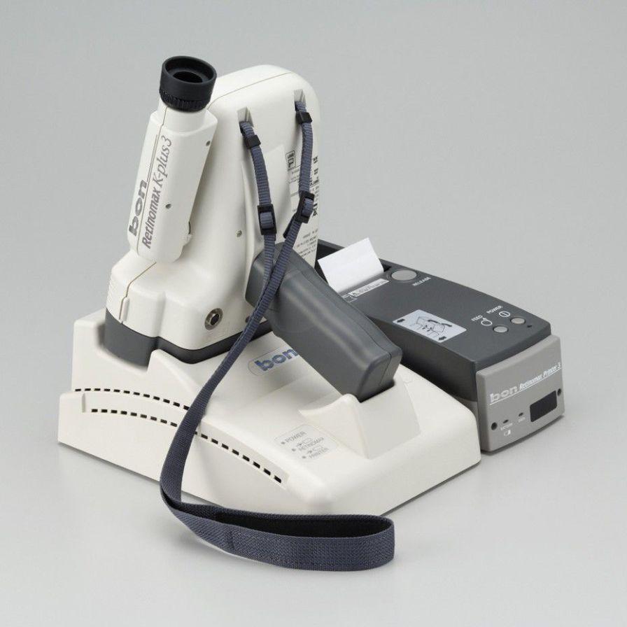 Automatic keratometer (ophthalmic examination) / automatic refractometer / hand-held bon Retinomax K-plus 3 bon Optic Vertriebsgesellschaft