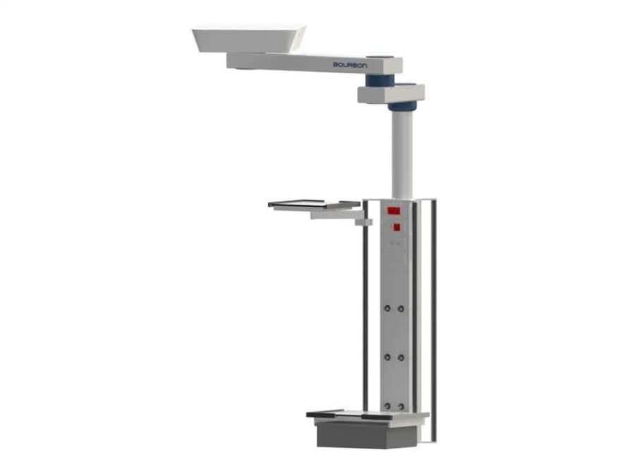 Ceiling-mounted medical pendant / articulated / with column 5M Bourbon
