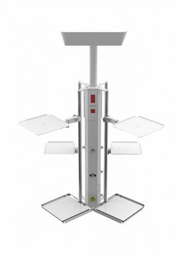 Ceiling-mounted supply column R Bourbon
