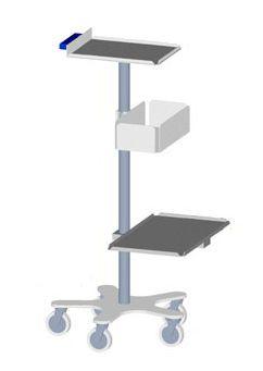 Medical computer cart Bourbon