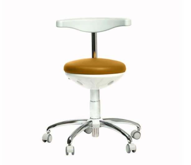 Dental stool / with backrest TD-170 ANCAR