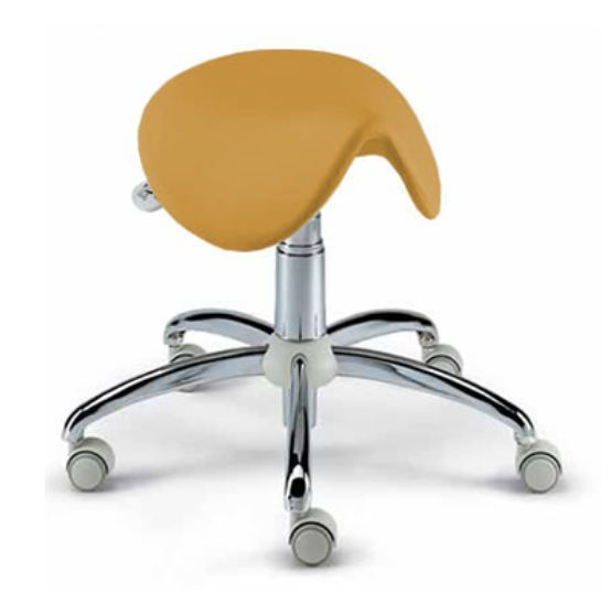 Dental stool / on casters / saddle seat TD-300 ANCAR