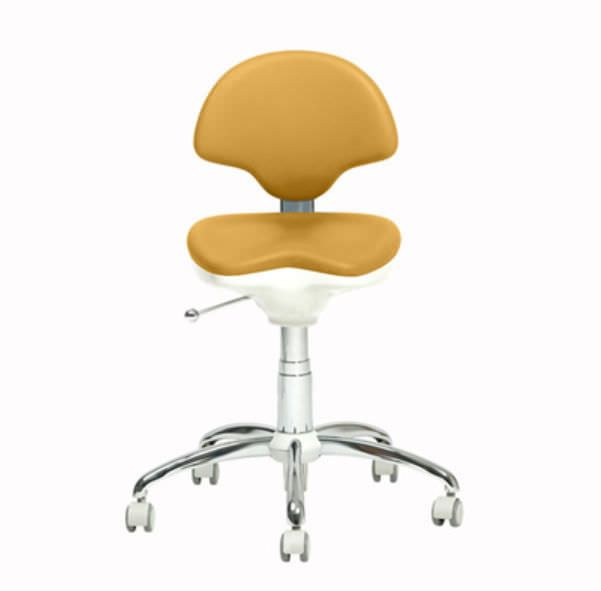 Dental stool / with backrest TD-220 ANCAR