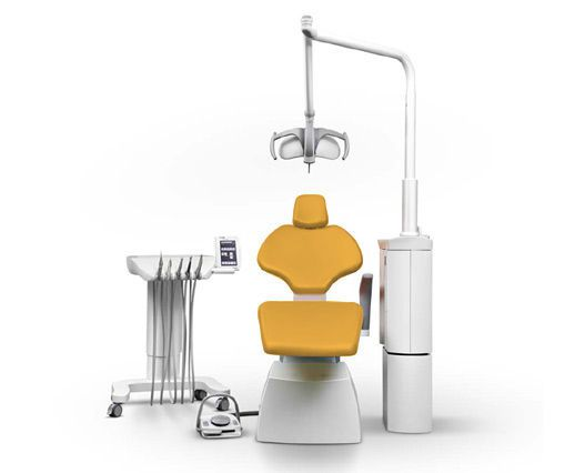 Dental treatment unit with motor-driven chair SD-80 SCANDINAVIAN ANCAR