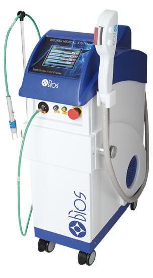 Dermatological laser / Nd:YAG / on trolley BIOSYAG Bios