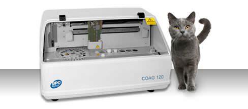 Veterinary coagulation analyzer COAG 120 Vet BPC BioSed