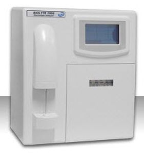 Electrolyte analyzer with ISE 60 tests/h   Biolyte 2008 BPC BioSed
