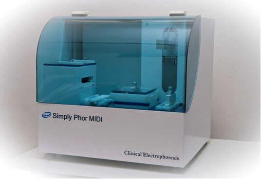 Compact electrophoresis system Simply PHOR MIDI BPC BioSed