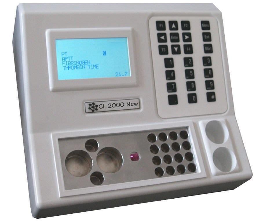 Semi-automatic coagulation analyzer / veterinary CL 2000 New Vet BPC BioSed