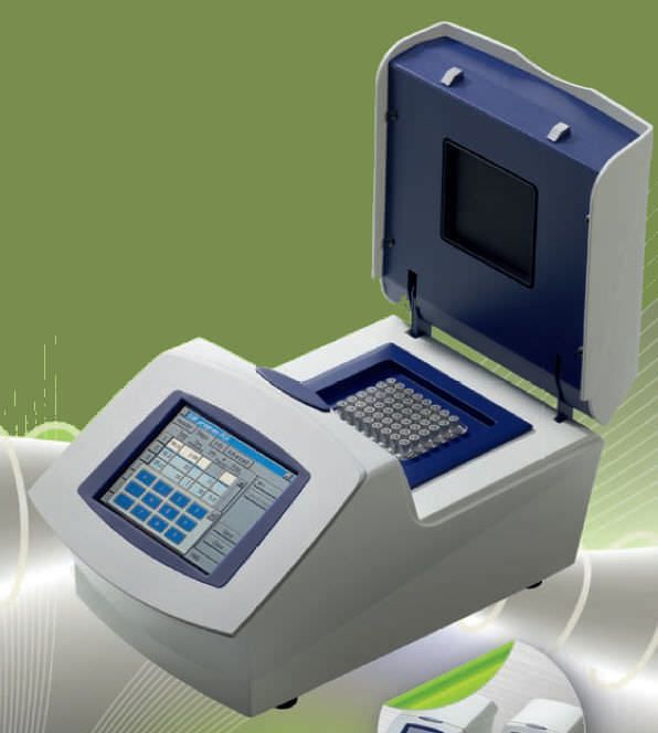 Thermal cycler with gradient function / compact The small one BIORON Diagnostics