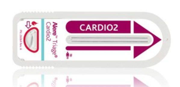 Fluorescence immunoassay rapid test Alere Triage® Cardio2 Panel Alere