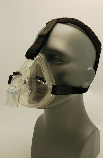Oxygen mask / CPAP / facial / silicone 8000 BLS Systems Limited