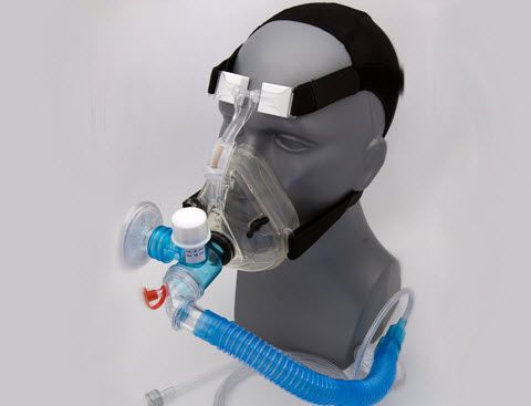 Oxygen mask / CPAP / facial / adjustable 8705 BLS Systems Limited