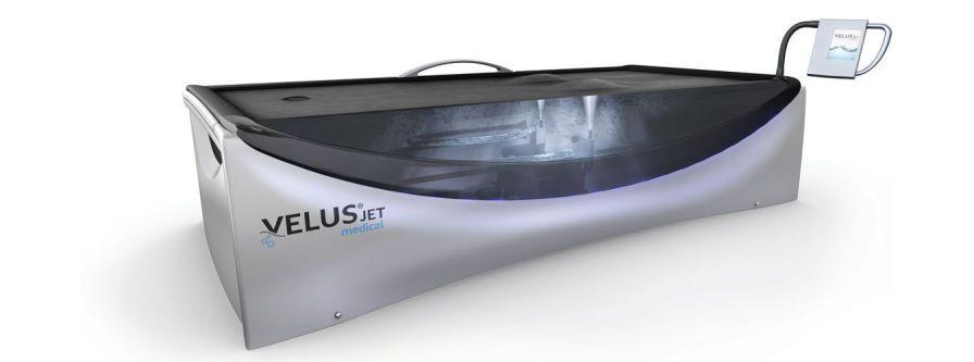 Hydro-jet water massage table VelusJet® medical Böckelt