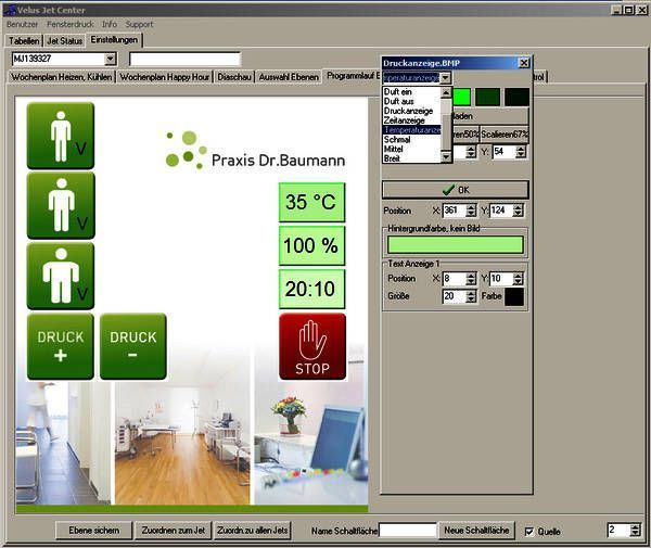 Management software / medical / physical therapy / for healthcare facilities JetCenter Böckelt