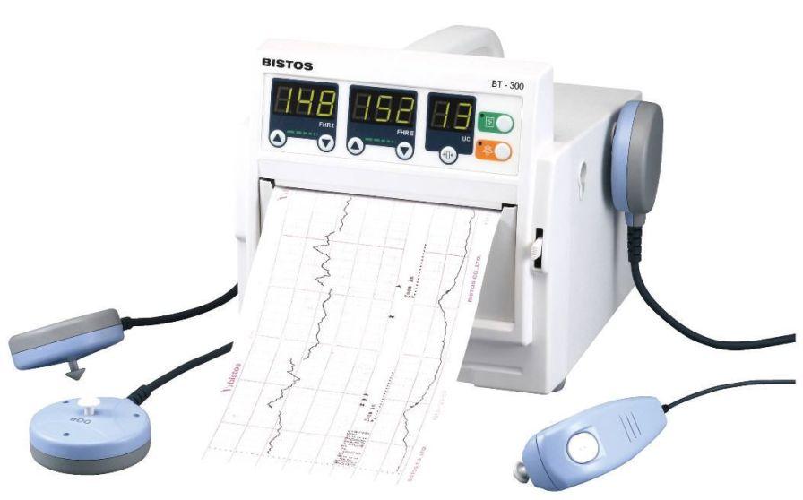 Twin fetal monitor 50 - 240 bpm   BT-300 BISTOS