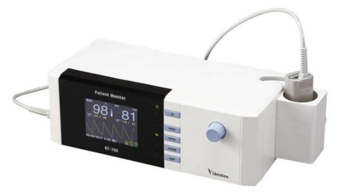 NIBP patient monitor / SpO2 1 - 100 % SpO2   BT-700 BISTOS