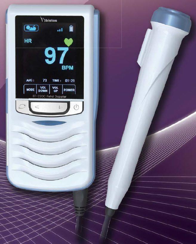 Fetal doppler / pocket 30 - 240 bpm   BT-220 BISTOS