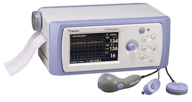 Twin fetal monitor 30 - 240 bpm   BT-330 BISTOS