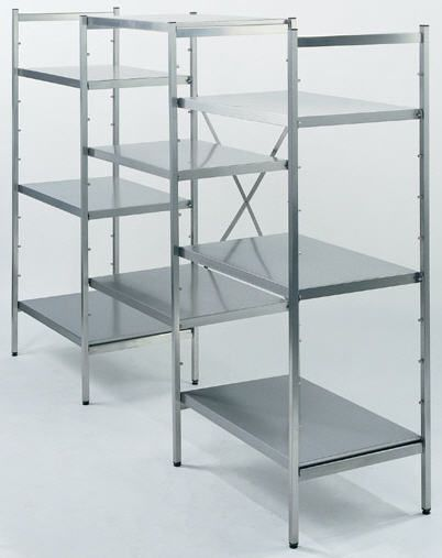 Stainless steel shelving unit BMT Medical Technology