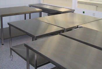Work table / stainless steel BMT Medical Technology
