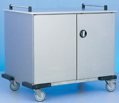 Storage trolley / with hinged door BMT Medical Technology