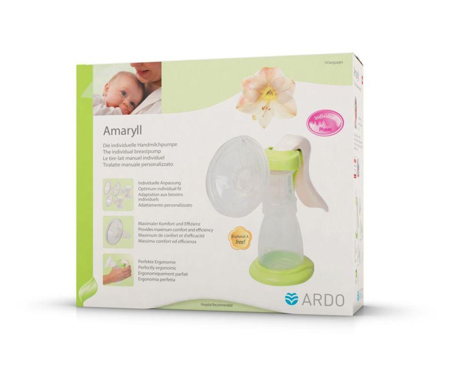 Manual breast pump / portable Amaryll Ardo