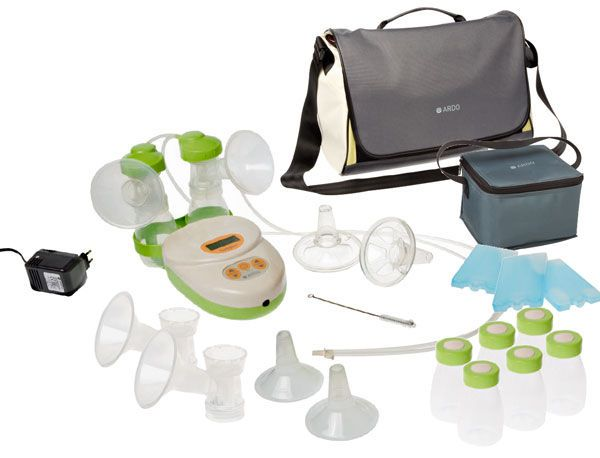 Electric breast pump / double / with accessory kit / with rechargeable battery Calypso-to-go Ardo