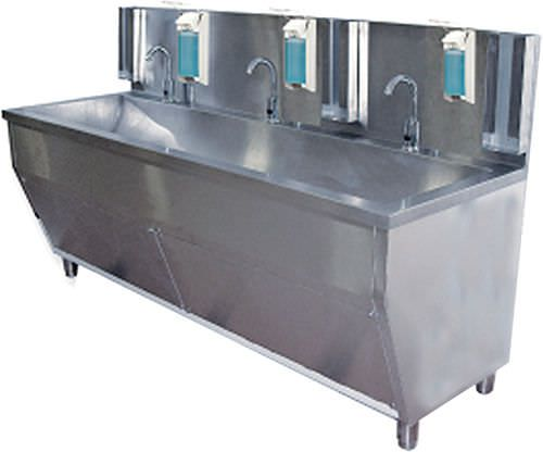 Stainless steel surgical sink / 3 stations Baygen Laboratuar