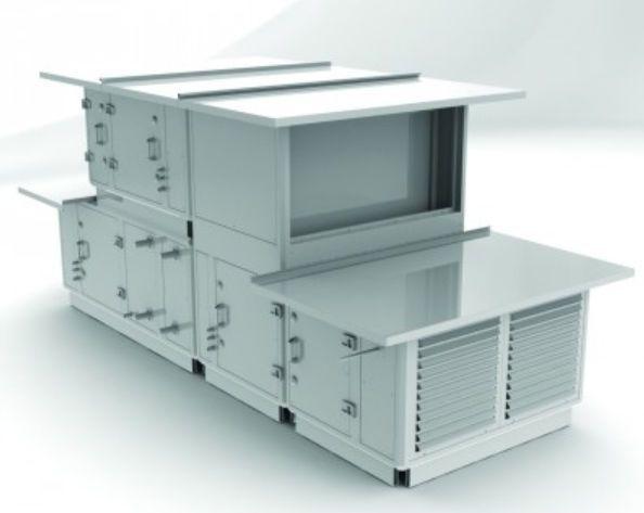 Air handling unit modular / for healthcare facilities LAGON AIRCALO