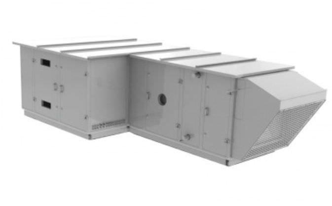 Air handling unit modular / for healthcare facilities EOLIS AIRCALO