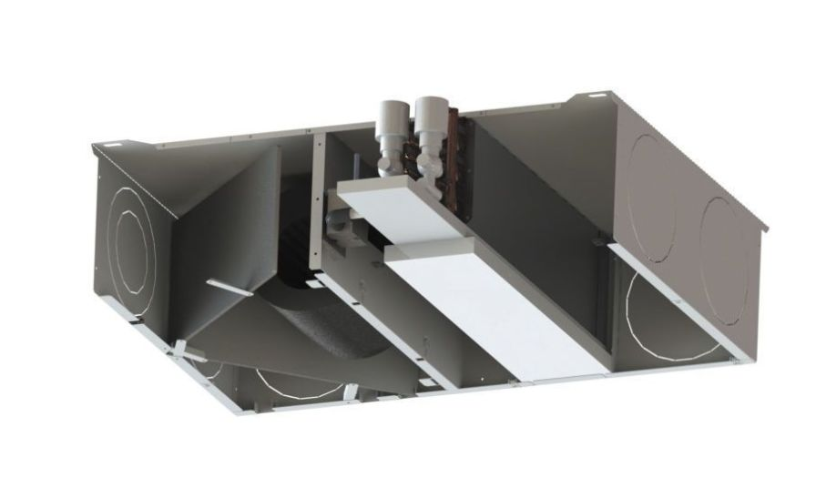 Duct fan coil unit / for healthcare facilities FUN AIRCALO