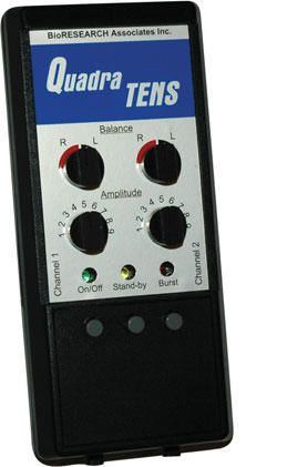 Electro-stimulator (physiotherapy) / hand-held / TENS / 2-channel QUADRA TENS Bioresearch
