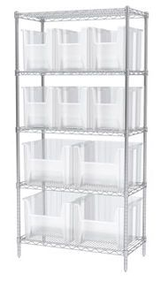 Container shelving unit STAK-N-STORE BIN Akro-Mils