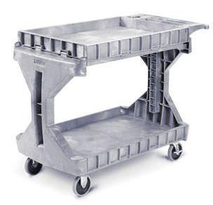 Medicine distribution trolley / non-magnetic PROCART™ Akro-Mils