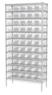 Container shelving unit SHELF BINS Akro-Mils